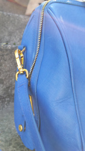Authentic PRADA Purse - Cornflower Blue