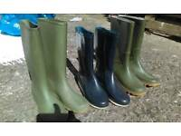 Wellies Wellington boots size 5 and 7