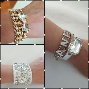 5 beautiful bracelets. Costume jewelry.