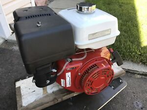 "Industrial strength 13 Hp Honda motor 1"" shaft no issues"