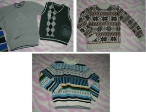 10 yrs Old Boys --- sweaters Lot (4 pieces)
