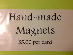 Hand  made magnets