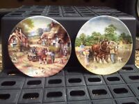 Wedgewood pair of collectable plates