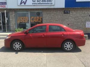 2012 Toyota Corolla special price $8999