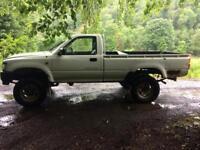 Wanted 4x4 pickups (isuzu, hilux, ranger,b2500 etc) 2wd/diesel