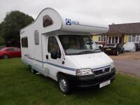 2004 Ace Napoli Manual Diesel RHD 4 Berth Over Cab Bed Rear Lounge Re 11113