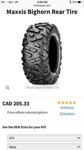 Bran new Big Horn Maxxis 26X12R12 tire