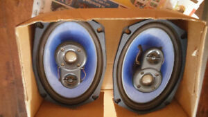JVC stereo and Clifford Designs speakers