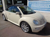 Volkswagen Beetle 1.9TDI 2004 S/H Leather P/X