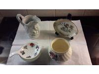 Assorted - vase jug bowl tea strainer