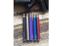 Job lot e cigarette batteries