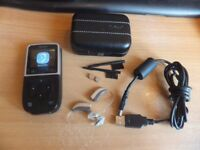 WIDEX C3 FS LEFT AND RIGHT HEARING AIDS WITH WIDEX M-DEX REMOTE