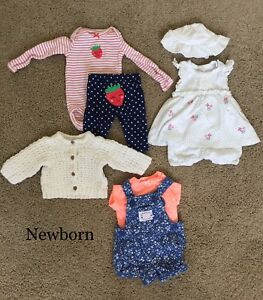 Baby girl clothes - Newborn outfits