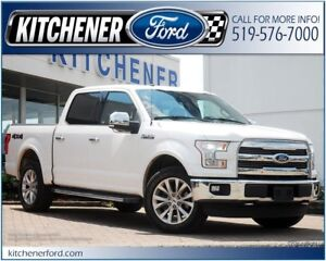 2016 Ford F-150 LARIAT/LEATHER/TOW PKG/CAMERA/PANO ROOF AND M...