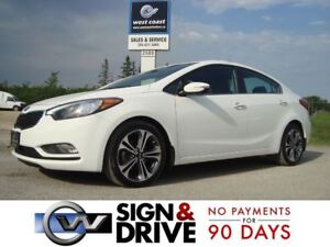 2016 Kia Forte 2.0L EX Plus w/Sunroof *Only $56 Weekly $0 Down*