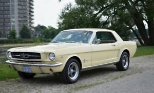 1965 Mustang 289, 4 barrel (original A code)