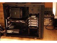 Gaming PC Ryzen 7 1700,16GB RAM,GTX980Ti,120GB m.2 SSD, 3TB HDD, Silent Case, GOLD PSU