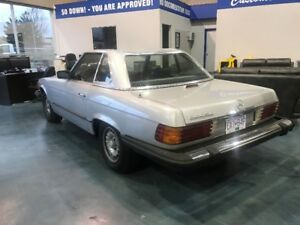 1981 Mercedes-Benz 300-Series HARD-TOP Convertible