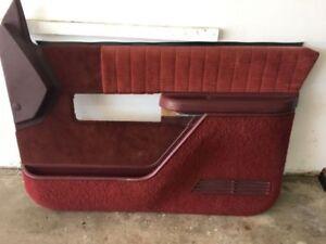 1988-1997 Chevrolet GMC truck 2 dr interior door panels.