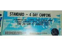 4 day standard creamfield ticket