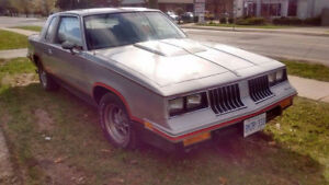 1984 Oldsmobile Cutlass Hurst BUILT MOTOR!!!!!