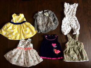 Lot of 0-3mo baby girl clothes