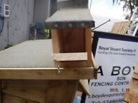 Bird box/house felt roof
