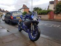 Yamaha yzf r125 65 plate £2000 not cbr ktm honda
