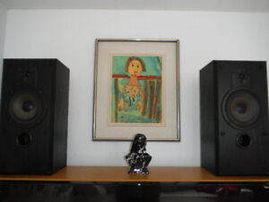 SPEAKERS, AWESOME BOWERS & WILKINS QUALITY