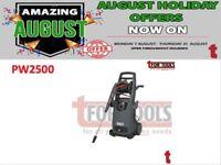 SEALEY PW2500 PRESSURE WASHER 170BAR + TSS & ROTABLAST NOZZLE 230V