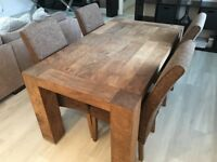 Rhino Dining Table with 4 Chairs *Amazing Condition*