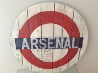 Arsenal wooden plack