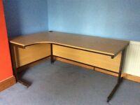Birch office desk