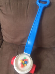 Fisher price popper push toy