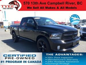 2014 Ram 1500 ST 4x4 Bluetooth Backup Camera