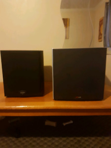 2 home theater subs for sale