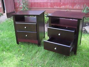 Bedside Tables...   Night stands.    ******* SOLD ******