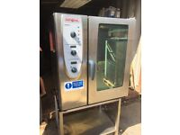 Rational cm101 2008 10 grid combi oven steam oven Steamer cooker commercial catering equipment
