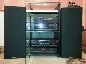 Great deal on vintage home stereo for CD and record lovers!