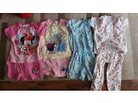 Girls Short Pajamas 18-24 Mths