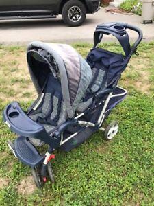 Dual stroller