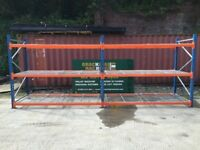 Longspan Shelving, Palllet racking, 2 x joined bays, warehouse PSS £300.00 + VAT