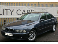 BMW 525 2.5 auto 2003 i SE GENUINE MINT CAR WITH FULL SERVICE HISTORY