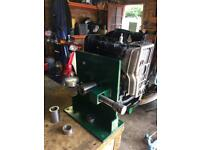Mower engine straightening shaft (250£)