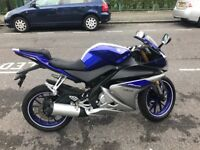 ### Yamaha R125 ## ABS Model ## 2015 ### 1 OWNER ### LOW MILEAGE ###
