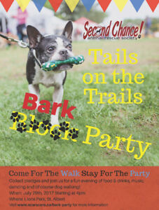 """SCARS Annual Tails on the Trails """"Bark Party"""