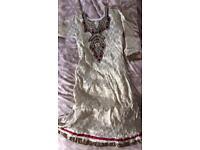 Asian clothes-churidar suit