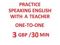 SKYPE ENGLISH TEACHER, BASED IN HUNGARY - FREE TRIAL, THEN 3 GBP / 30 MINUTES