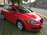 2008 08 Seat Leon 1.6 Stylance 5 DOOR ONLY 77000 MILES WITH NEW MOT