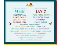 2 x V Festival Weekend Tickets (No Camping) - Hylands Park, Chelmsford